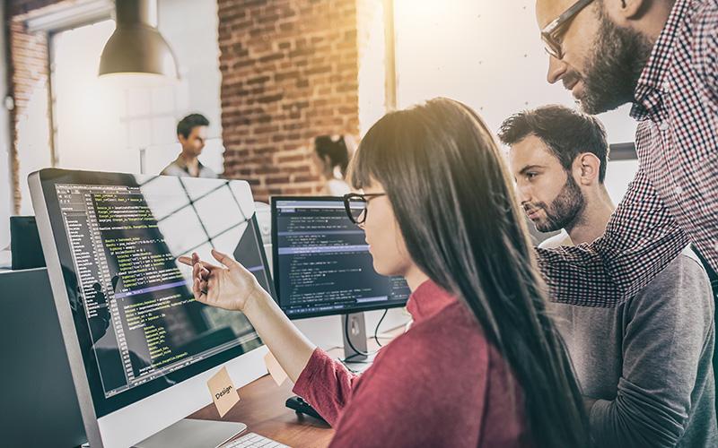 Softwareentwicklung für Geschäftsprozesse