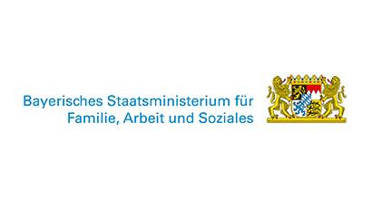 Logo des Bayrischen Staatsministerium für Familie, Arbeit und Soziales